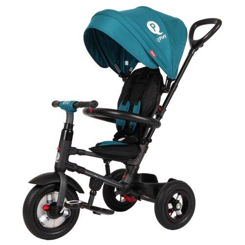 Купить Трехколесный велосипед QPlay QA6 зеленый, Трехколесные велосипеды