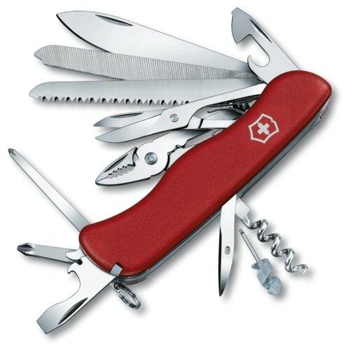 Нож многофункциональный VICTORINOX Work Champ (0.9064) (21 функций) красный нож многофункциональный victorinox ranger camping 21 функций красный