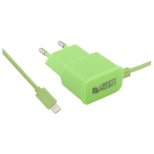 Сетевая зарядка Liberty Project 0L-00000692 зеленыйЗарядные устройства и адаптеры<br>