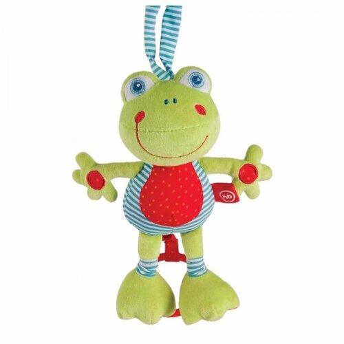 Купить Подвесная игрушка Happy Baby Лягушка (330361) зеленый/красный/голубой, Подвески