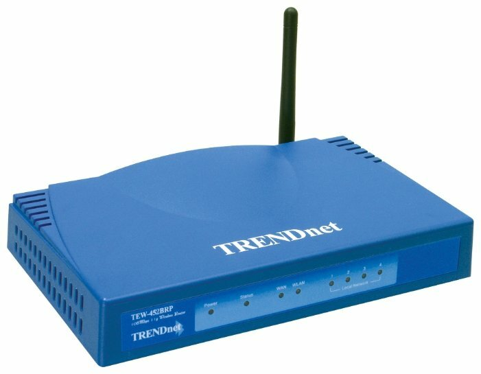 Wi-Fi роутер TRENDnet TEW-452BRP