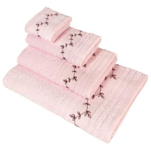 Wellness Полотенце Инес для рук 50х100 см розовыйПолотенца<br>