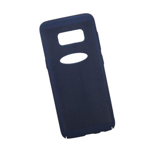 Чехол Liberty Project Сетка Soft Touch для Samsung S8 темно-синий
