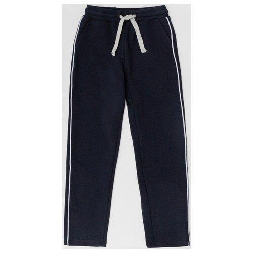 Купить Спортивные брюки Button Blue размер 140, синий, Брюки