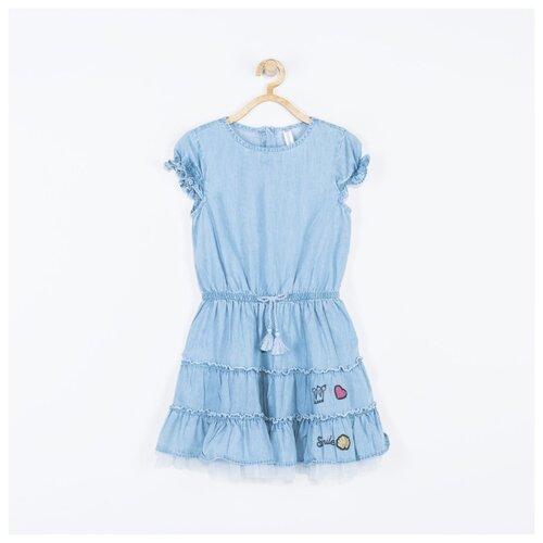 Платье COCCODRILLO размер 98, голубой