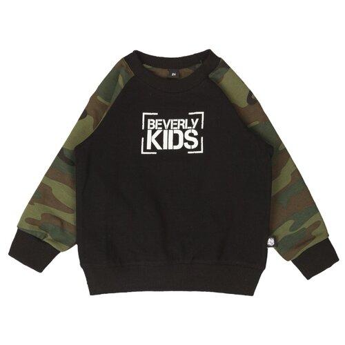 Свитшот BEVERLY KIDS размер 80, black