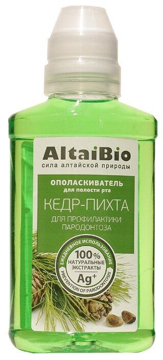 AltaiBio Ополаскиватель для полости рта Кедр Пихта,