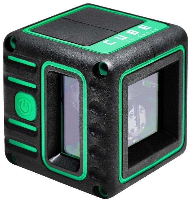Лазерный уровень ADA instruments Cube 3D Green Professional Edition (А00545)