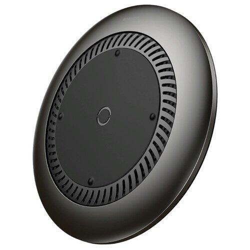 Фото - Беспроводная сетевая зарядка Baseus Whirlwind Desktop Wireless Charger черный беспроводная сетевая зарядка baseus ufo desktop wireless charger черный