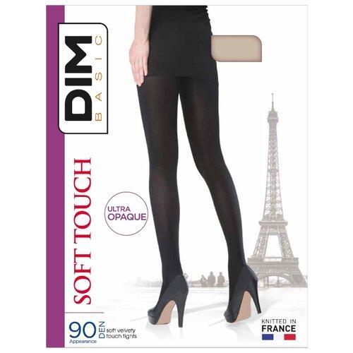 Колготки DIM Basic Soft Touch 90 den коричневый 3 (DIM)Колготки и чулки<br>