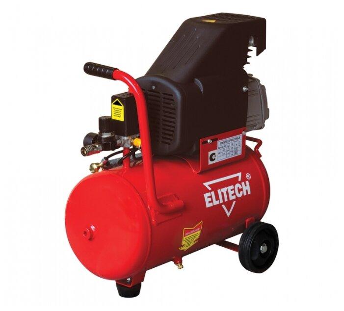 Компрессор масляный ELITECH КПМ 200/24, 24 л, 1.5 кВт