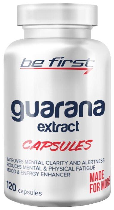 Предтренировочный комплекс Be First Guarana Extract Capsules (120 шт.)
