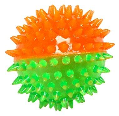Мячик для собак Грызлик Ам Мяч игольчатый с пищалкой (40.ZV.138)