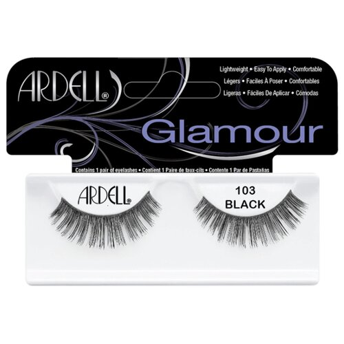 Ardell накладные ресницы Glamour Fashion Lash 103 blackРесницы и клей<br>