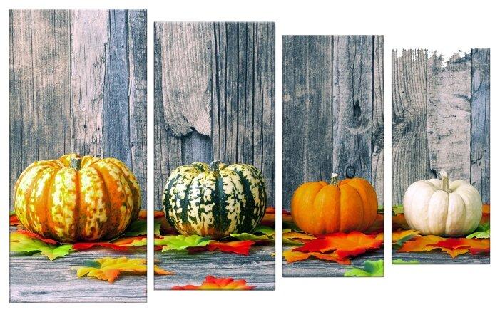 Модульная картина Картиномания День Благодарения и Хэллоуин