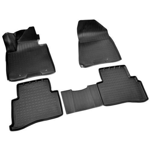Комплект ковриков NorPlast NPA11-C43-525 4 шт. черный