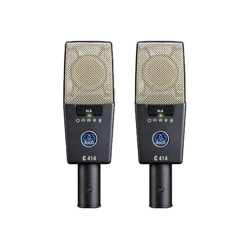 Комплект микрофонов AKG C414XLS/ST, черный