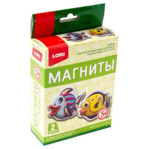 Купить LORI Магниты из гипса Яркие рыбки (Пз/Г-014), Гипс