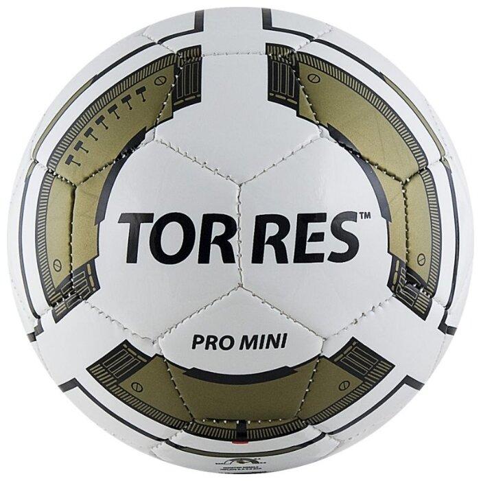 Мяч TORRES Pro Mini белый/золотой