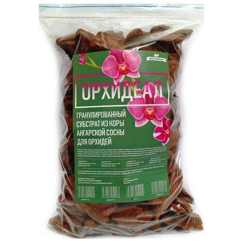 Гранулированный субстрат из коры Ангарской сосны для орхидей «Орхидеал» фракция 2-4см, 3л
