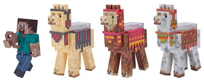 Игровой набор Jazwares Minecraft Стив и караван Лам 16565