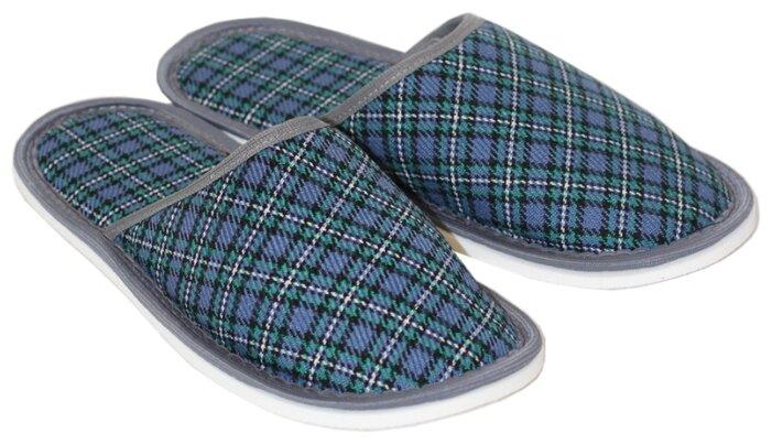 Тапочки ivshoes сине-зеленый 42-43