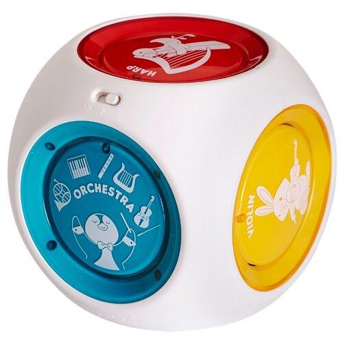 Купить Интерактивная развивающая игрушка Munchkin Mozart Magic Cube белый, Развивающие игрушки