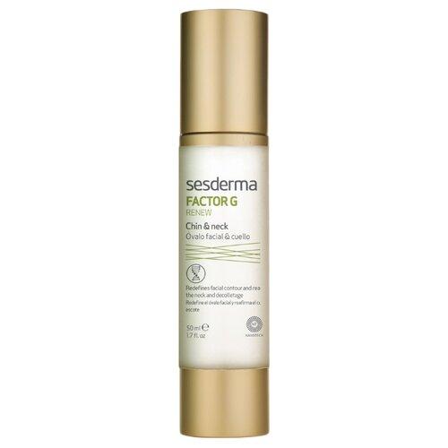 Купить SesDerma Factor G Renew Oval face & neck Омолаживающее средство для овала лица и шеи, 50 мл