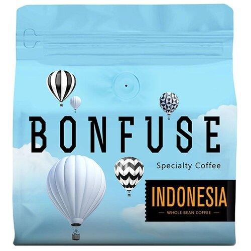 Кофе в зернах Bonfuse Indonesia, арабика, 250 г кофе в зернах bonfuse asia арабика 250 г