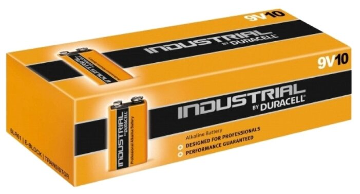 Батарейка Duracell Industrial 9V/6LR61