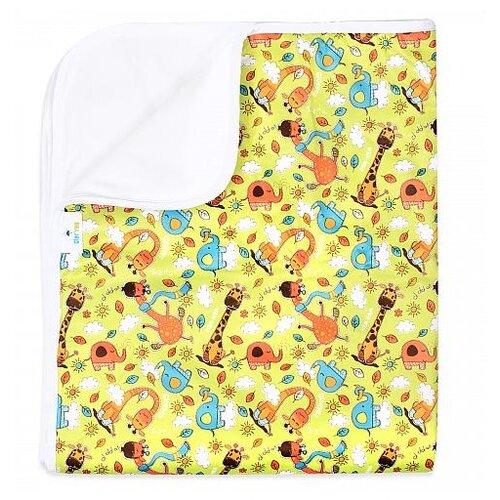Купить Многоразовые пеленки GlorYes! впитывающая 100х120 жирафы, Пеленки, клеенки