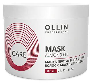 OLLIN Professional Care Маска против выпадения волос с маслом миндаля