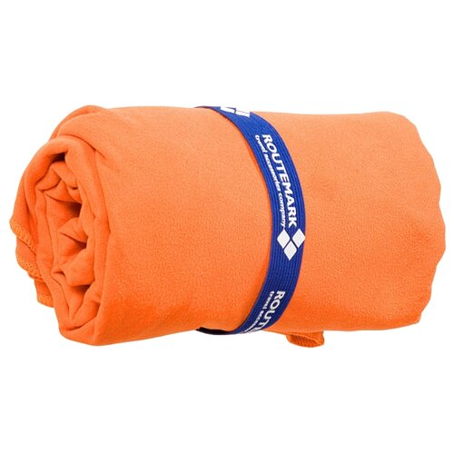 ROUTEMARK Пляжное полотенце микрофибра MFT-010 пляжное 70х140 см оранжевый