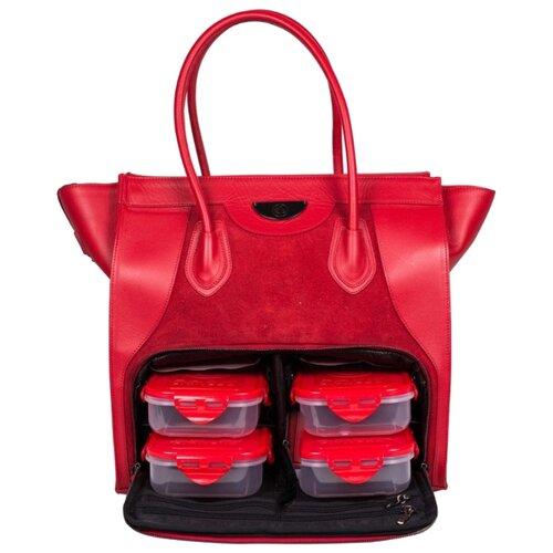 Six Pack Fitness Женская сумка Victoria Elite Tote красный 26 л
