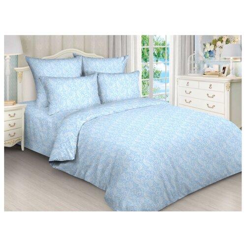 Постельное белье 2-спальное Toontex 5744 евробязь голубойКомплекты<br>