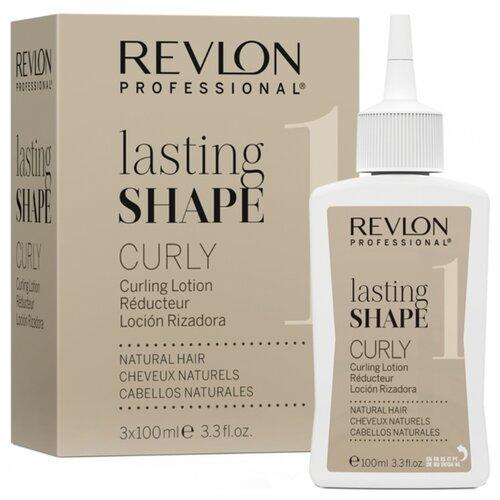 Купить Revlon Professional Lasting Shape Curly Natural Hair 1 Лосьон для химической завивки натуральных волос, 300 мл