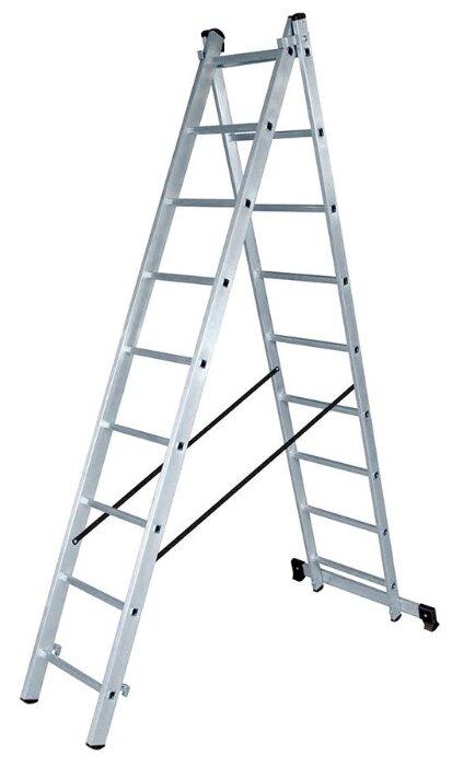 Лестница трансформер 2-секционная ВИХРЬ ЛА 2х9