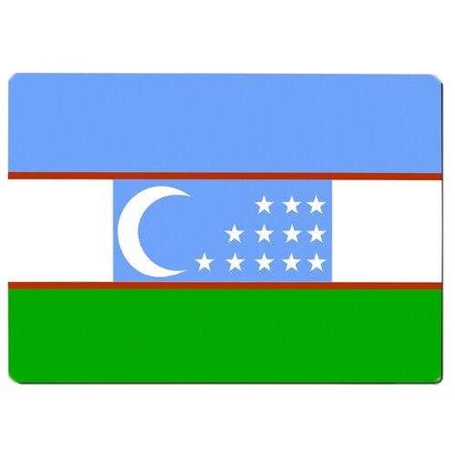 Коврик для мыши Флаг Узбекистана