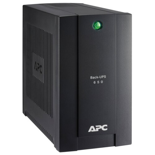 Резервный ИБП APC by Schneider Electric Back-UPS BC650-RSX761 ибп apc by schneider electric back ups pro 900 br900gi