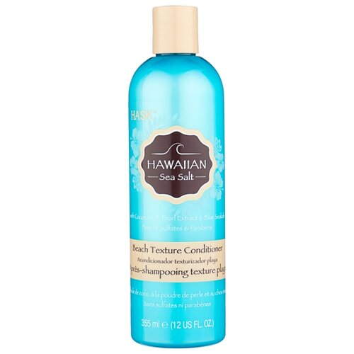 Hask кондиционер для волос Hawaiian Sea Salt Beach Texture, 355 мл