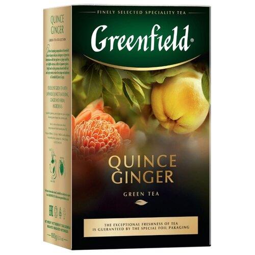 Чай зеленый Greenfield Quince ginger, 100 г