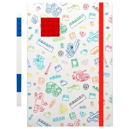 Канцелярский набор LEGO 51536/51537/51538 2 пр. белый/красный/синийОфисные наборы<br>