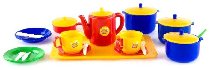 Набор посуды Пластмастер Хозяюшка 21006