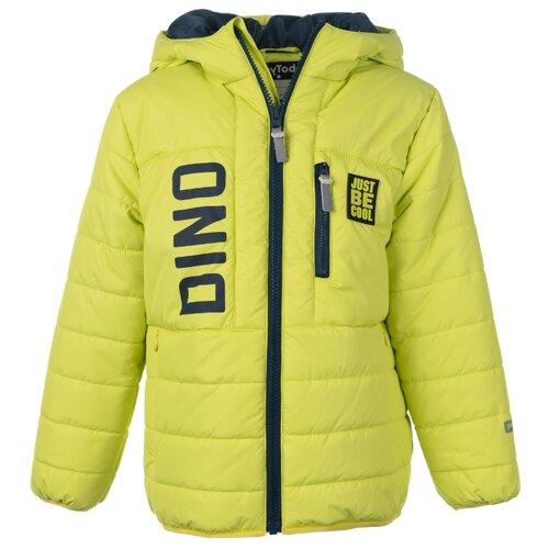 Куртка playToday Супер дино 191016 размер 98, светло-зеленыйКуртки и пуховики<br>