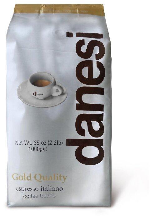 Купить Кофе в зернах Danesi Gold, мягкая упаковка, арабика, 1000 г по низкой цене с доставкой из Яндекс.Маркета (бывший Беру)