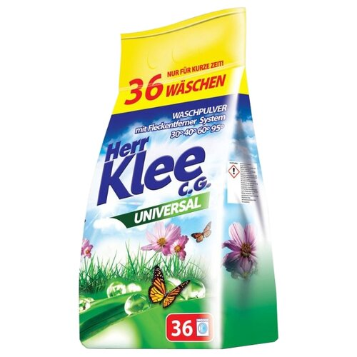 Стиральный порошок Herr Klee Universal 3 кг пластиковый пакетСтиральный порошок<br>