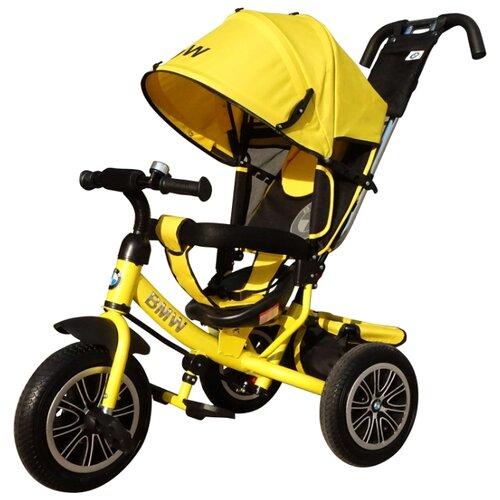 Купить Трехколесный велосипед Shantou City Daxiang Plastic Toys BMW-N1210 желтый, Трехколесные велосипеды