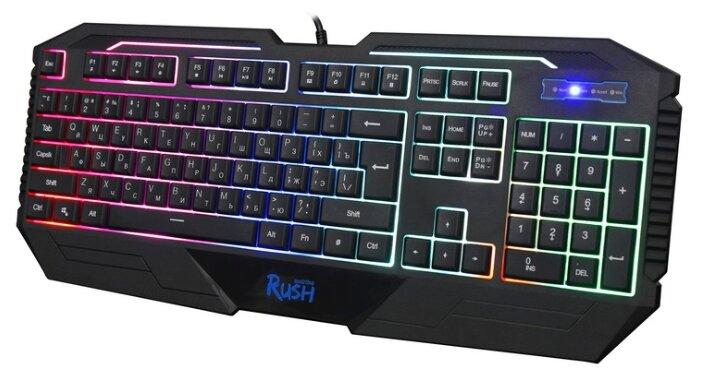 Клавиатура SmartBuy RUSH 304 Black USB — купить по выгодной цене на Яндекс.Маркете