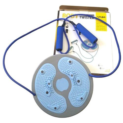 Тренажер для пресса Hawk Body Twister (HKWT102-1) голубой/серый hawk hkaw 128 1