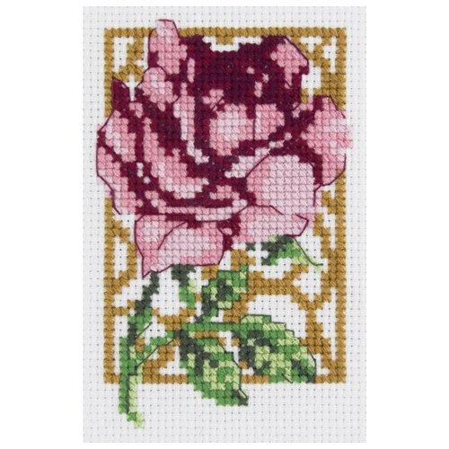 Купить Klart Набор для вышивания Розочка 10 x 6.5 см (6-088), Наборы для вышивания